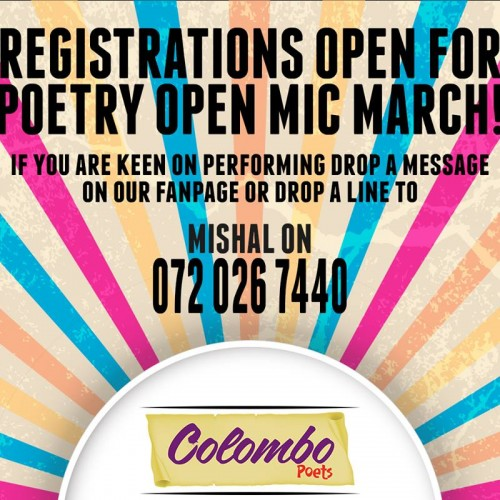 Colombo Poets Open Mic Is Looking For You