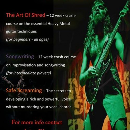 Arjun Dhas's Heavy Metal Crash Course