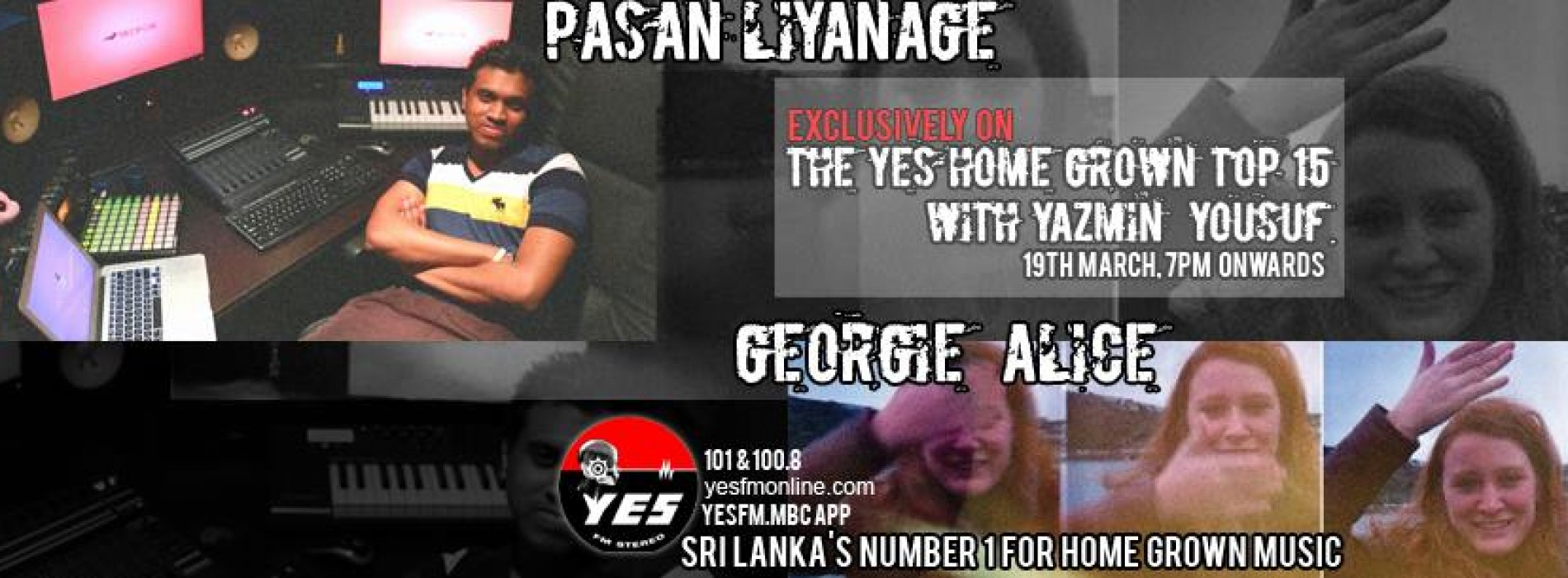Pasan Liyanage & Georgie Alice On The YES Home Grown Top 15