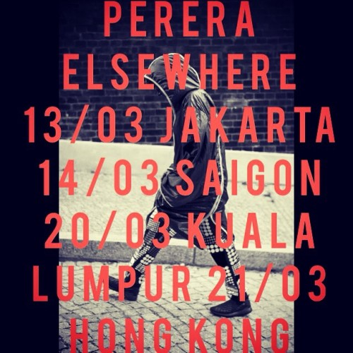 Perera Elsewere On Tour