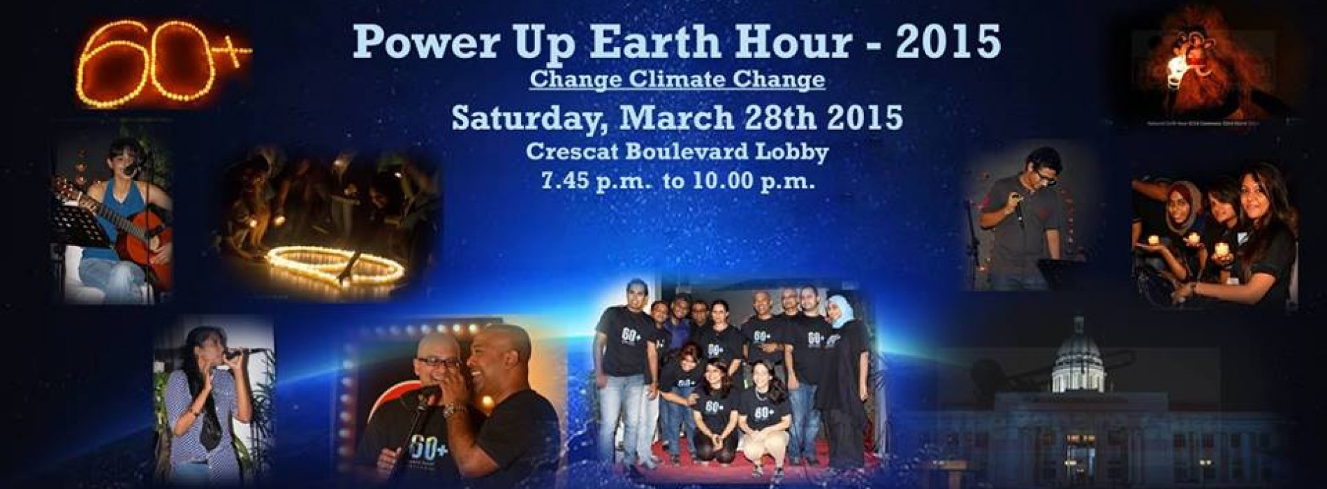 Power Up Earth Hour – 2015