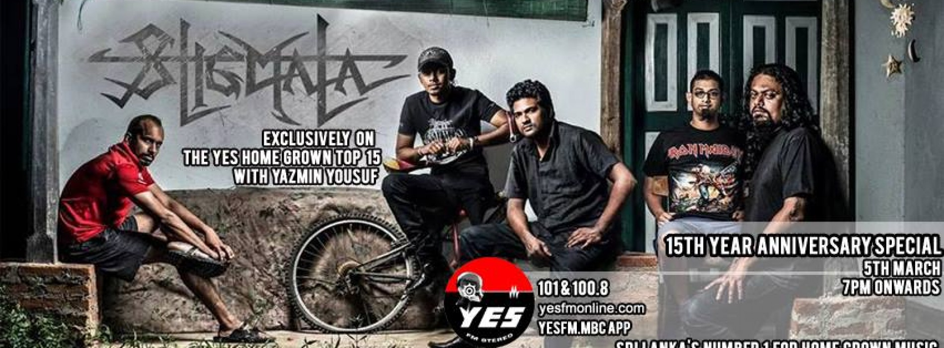 Stigmata On The YES Home Grown Top 15