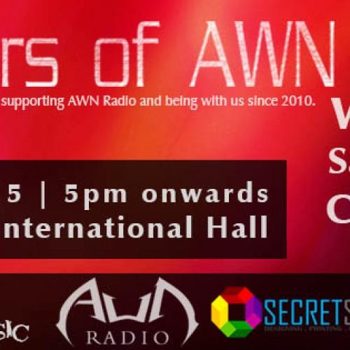 5 Years Of AWN Radio