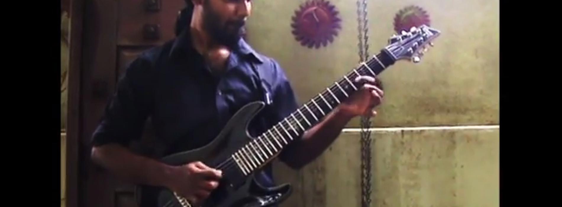 Arjun Dhas: Motherjane – Fields Of Sound Solo (Cover)