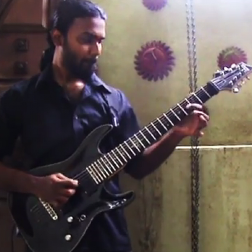 Arjun Dhas: Motherjane – Fields Of Sound Solo (Cover)