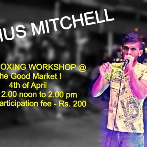 Beatbox Workshop Today At The Good Market