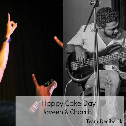 Happy Cake Day Javeen & Charith
