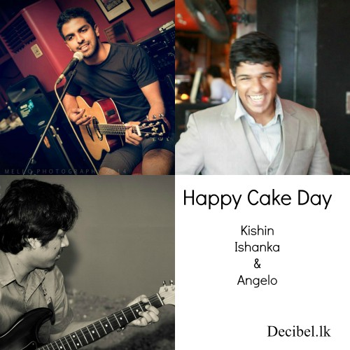 Happy Belated Cake Day To Kishin, Ishanka & Angelo!