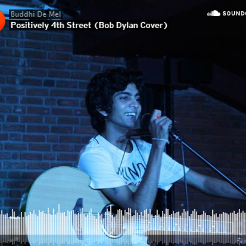 Buddhi De Mel – Positively 4th Street (cover)