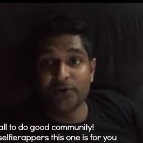 Iraj Posts Another #SelfieRap Community Challenge