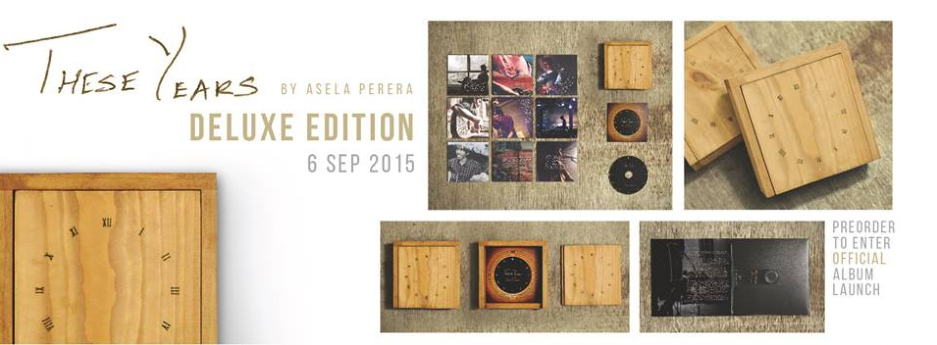 """Pre-Order Your Copy Of """"These Years"""" By Asela Perera"""