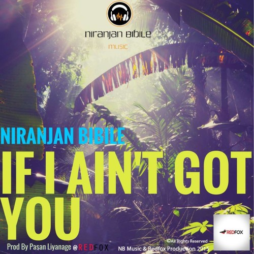 Niranjan's Got Solo Material Coming Out Soon!