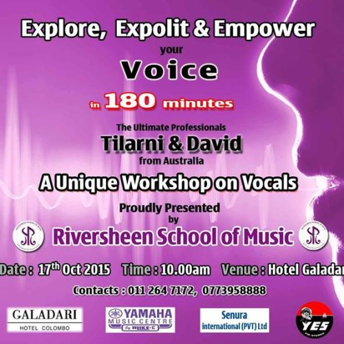 David & Tilarni Senn: The Ultimate Vocal Workshop