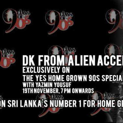 DK From Alien Accent On The YES Home Grown 90s Special