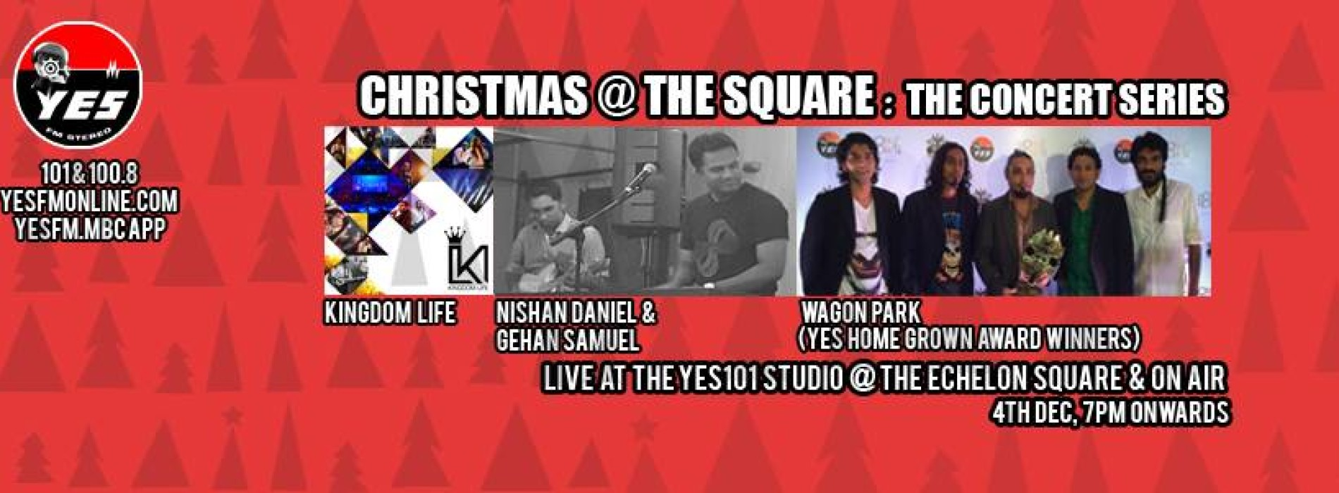 Christmas At The Square: The Concert Series (4th December)