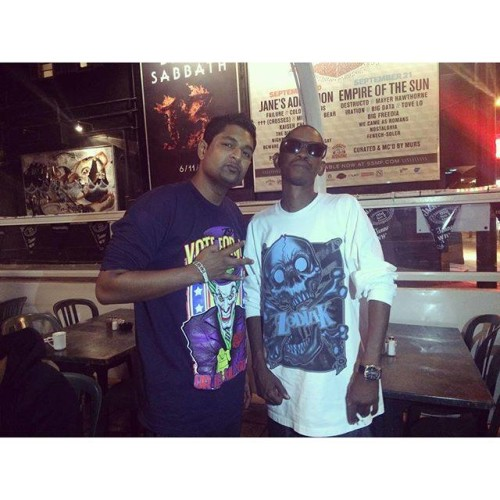Iraj Posts Selfie With Kurupt, Makes Everyone Blink Too Much