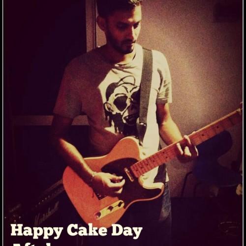 Happy Cake Day Aftab Aziz