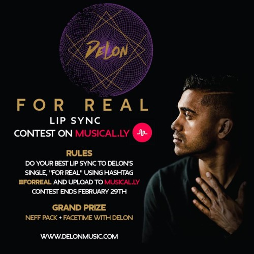 DeLon Announces Contest, Wants YOU To Check It Out