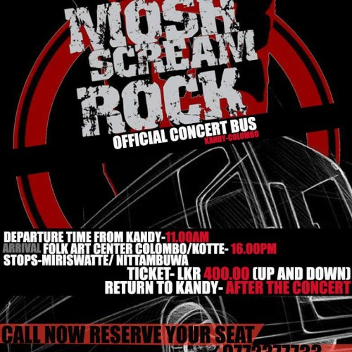 The Mosh Scream Rock – Kandy Bus