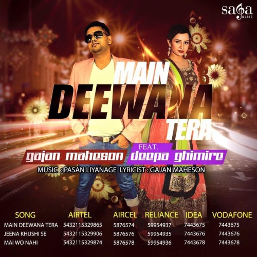 Gajan Maheson Ft Deepa Ghimire – Main Deewana Tera (Official Video)