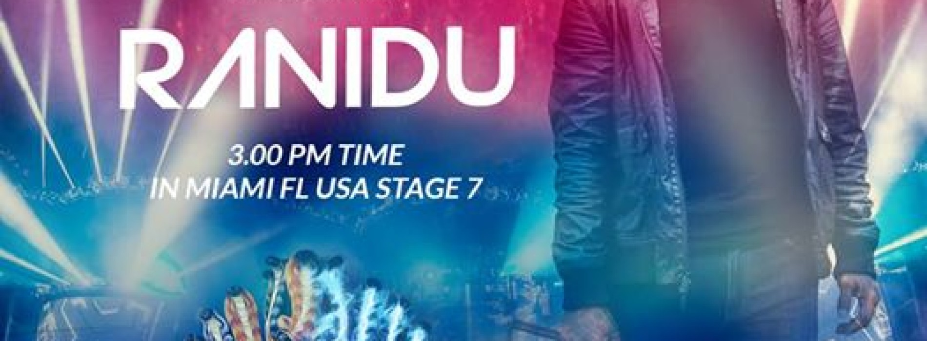 Ranidu Finishes Year 4 @ Ultra Music Festival