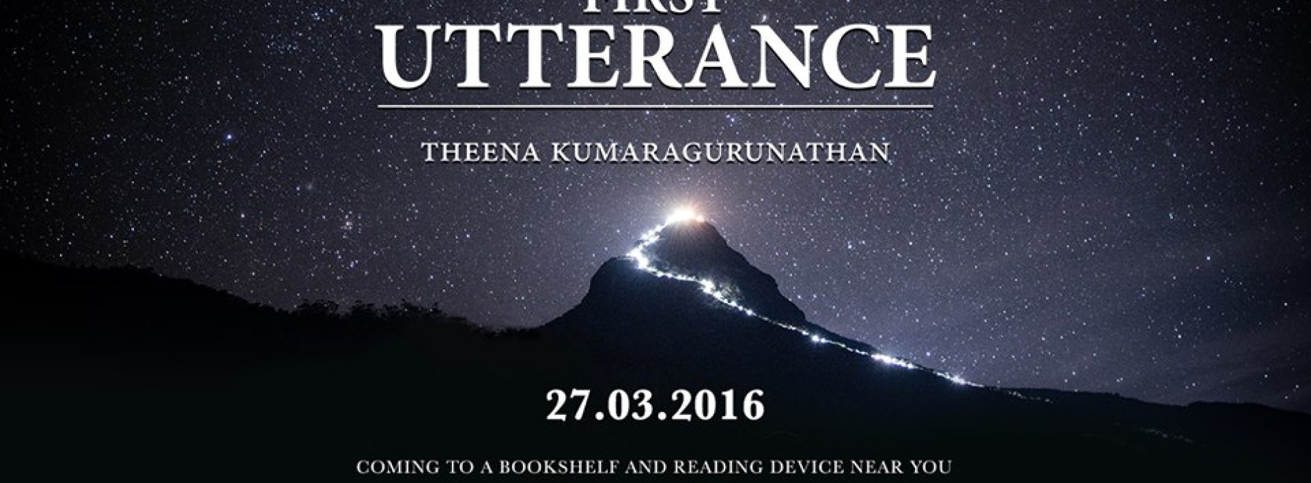 Theena On His Debut Novel : First Utterance (The Miragian Cycles) & More