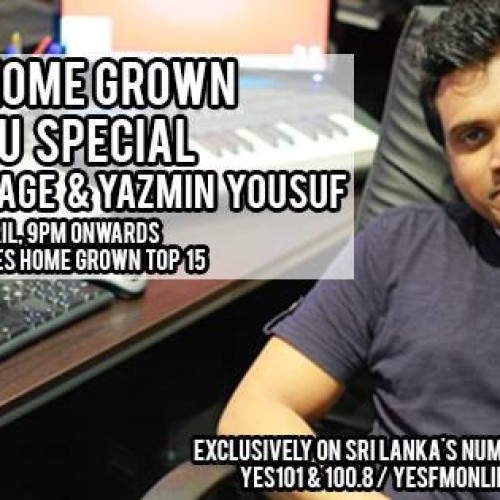The YES Home Grown Avrudhu Special With Pasan Liyanage & Yazmin Yousuf