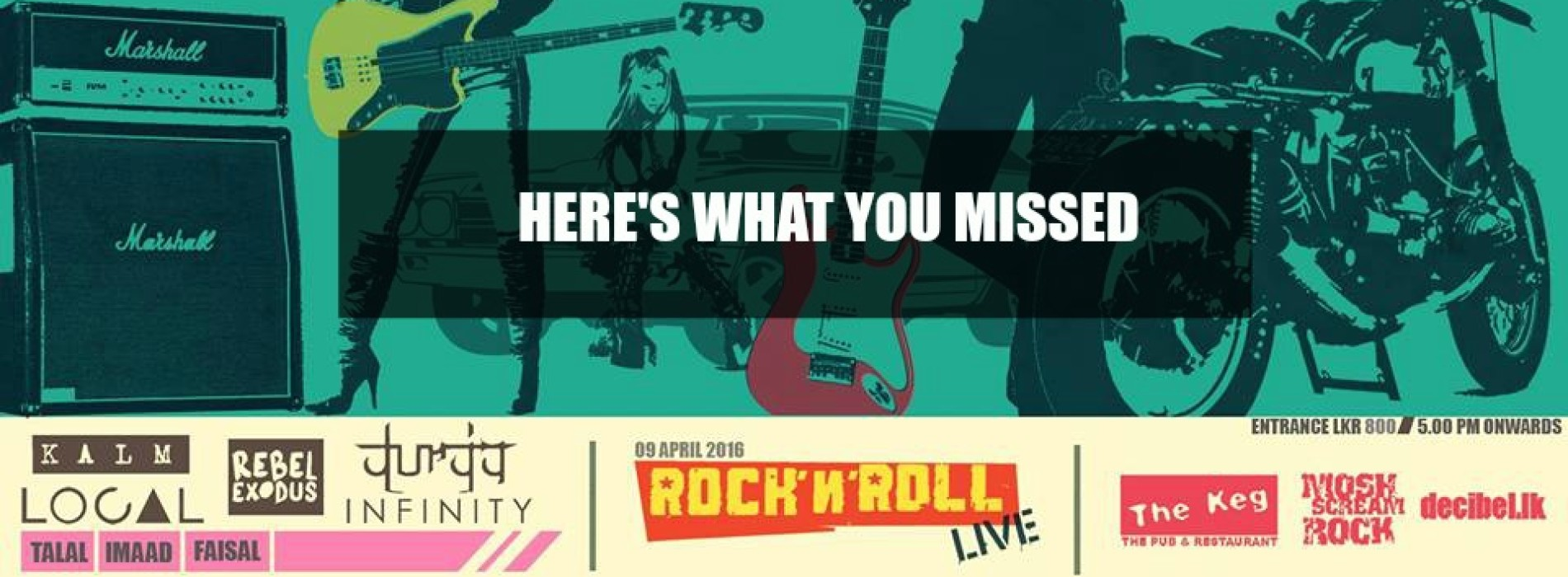 Missed Out On Rock N Roll? Here's What You Missed
