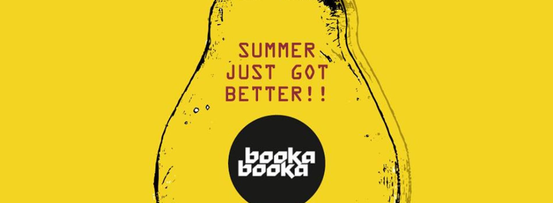 Booka Booka Is Back In July!