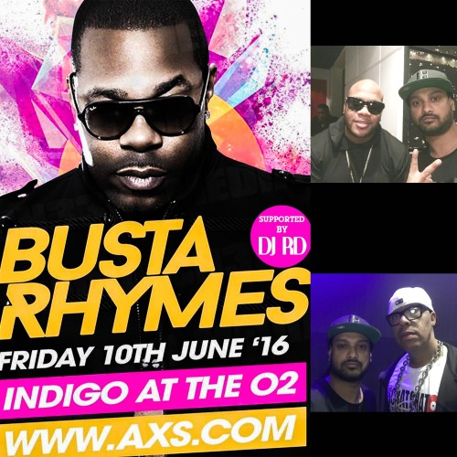 DJ RD Supports Busta Rhymes On Tour
