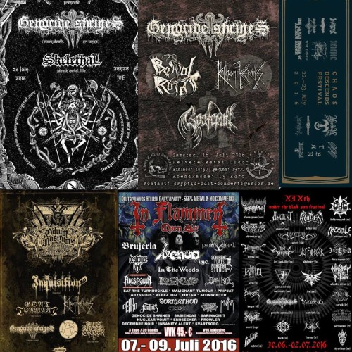 Genocide Shrines Europe Tour Postponed