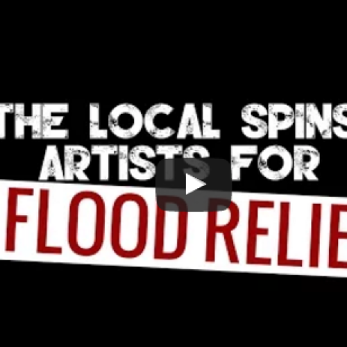 The Local Spins Artists For Flood Relief – We're On Our Way