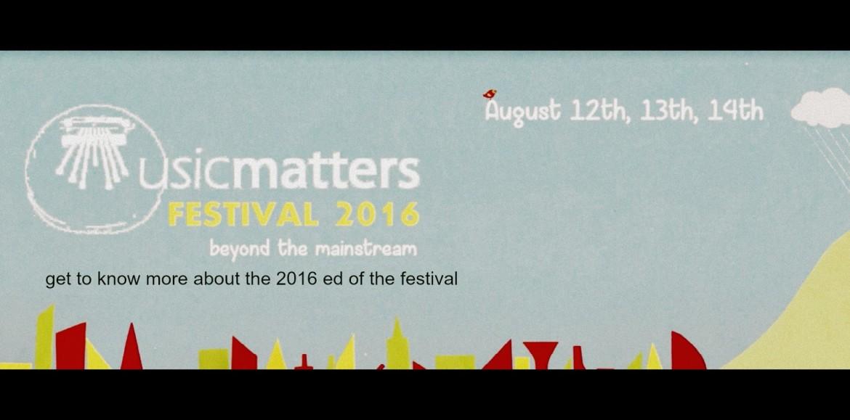 Decibel Exclusive : Musicmatters Festival #5