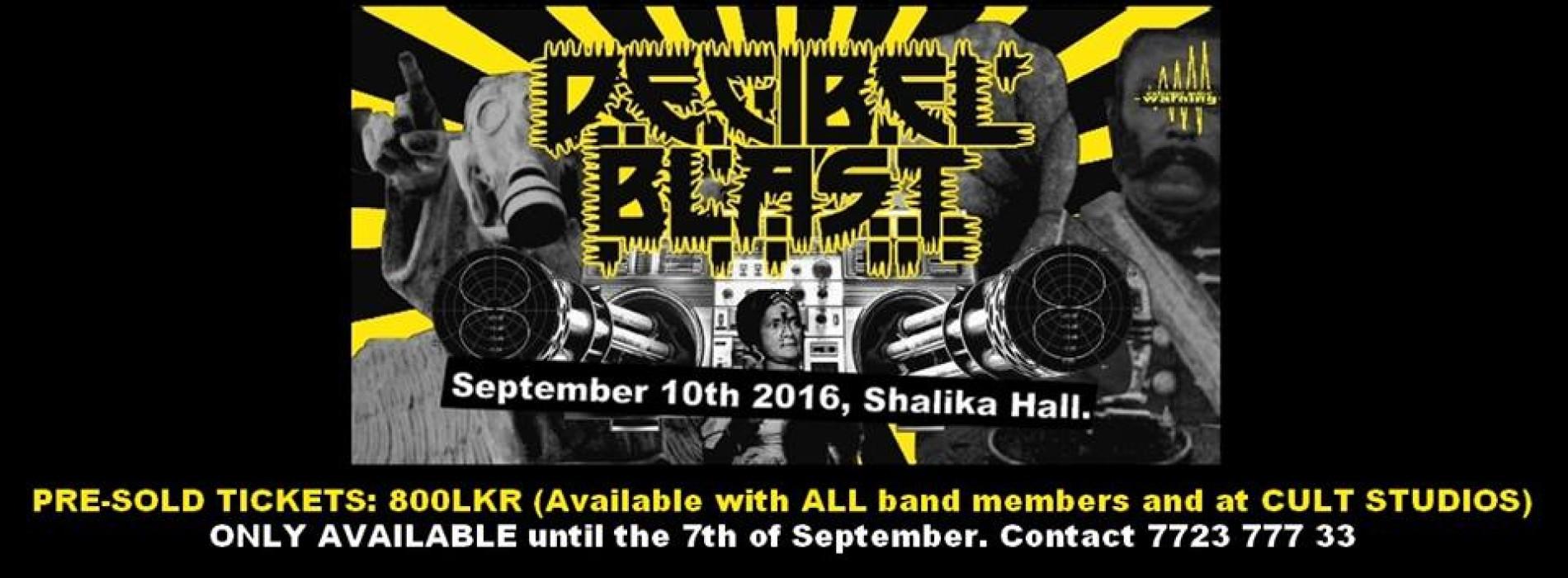 Get Your Tickets For Decibel Blast