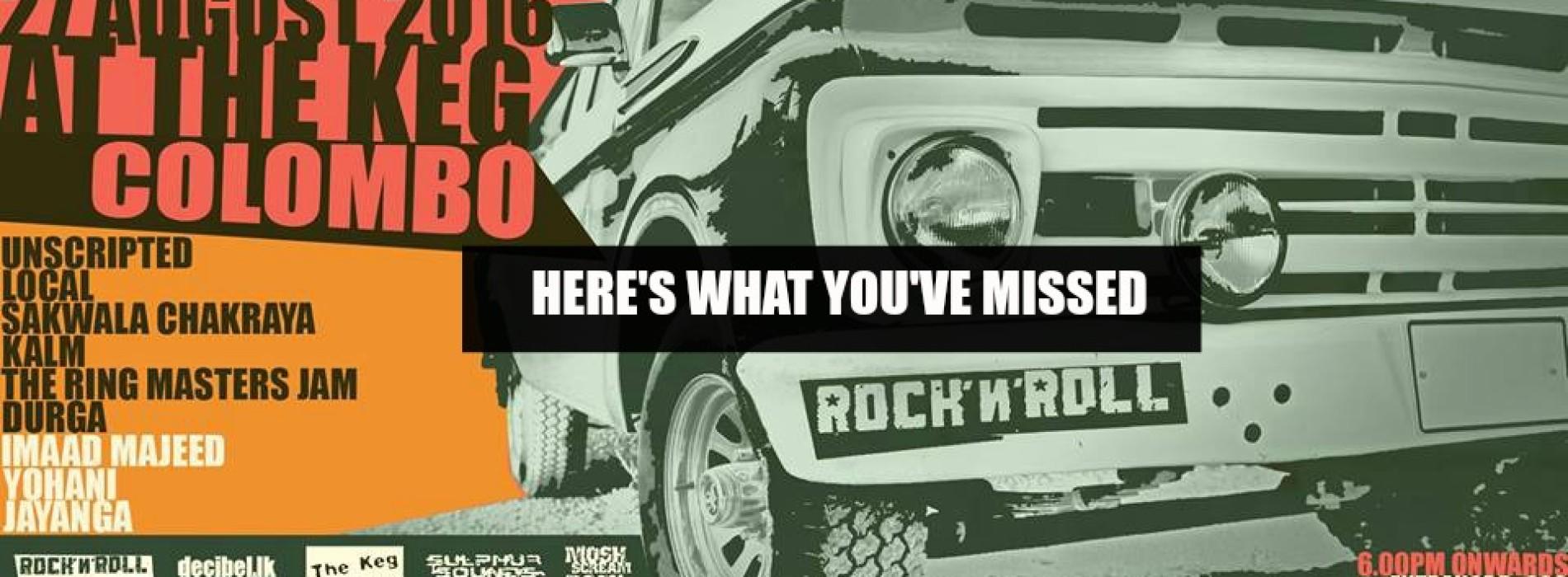 Decibel Exclusive : Rock N Roll 2k15