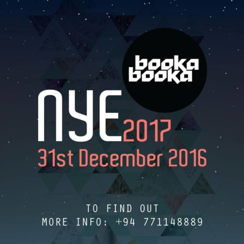 Booka Booka Announces Their NYE Party