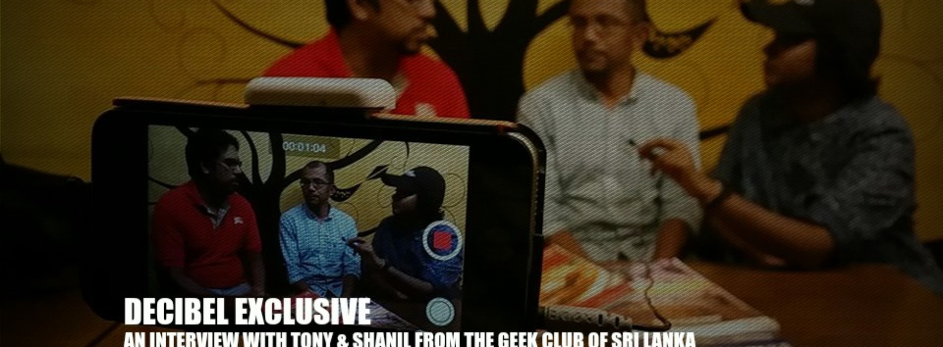 Decibel Exclusive : An Interview With Tony & Shanil From The Geek Club