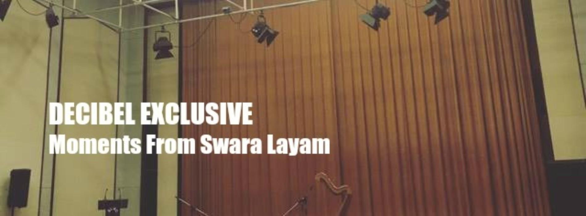 Decibel Exclusive : Moments From Swara Layam: Shaaranya Pillai & Musicmatters