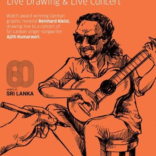 Decibel Exclusive : Moments From Reinhard Kleist + Ajith Kumarasiri Live @ The Goethe Insitut