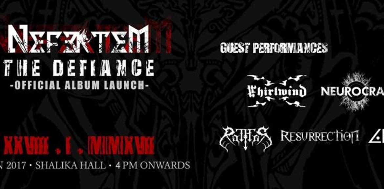 Decibel Exclusive : Moments From The Defiance (Nefertem's Album Launch)