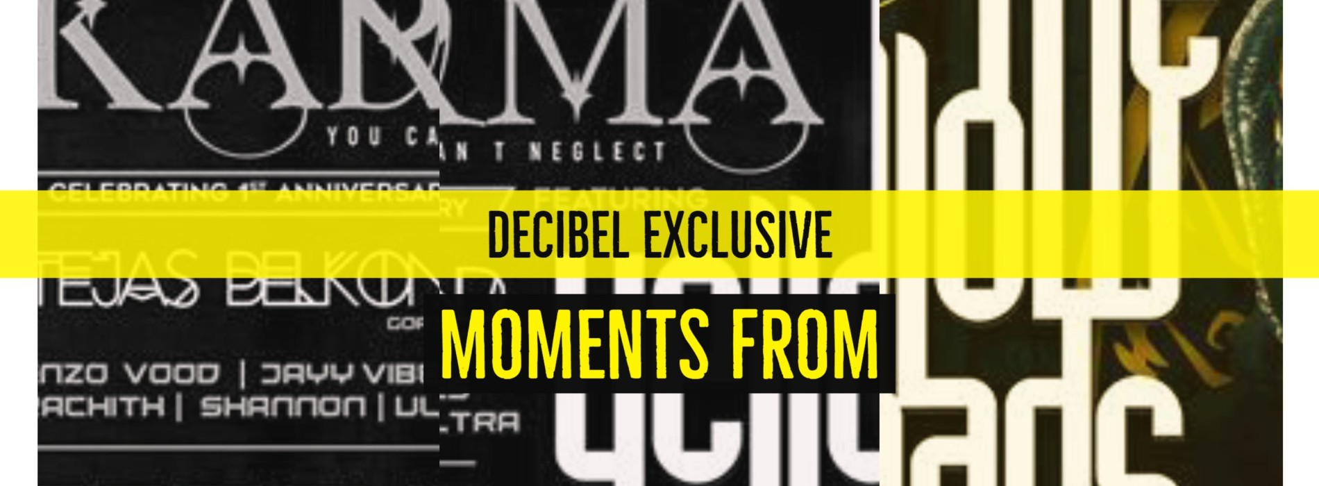 Decibel Exclusive : KÁRMÁ Ft The YellowHeads