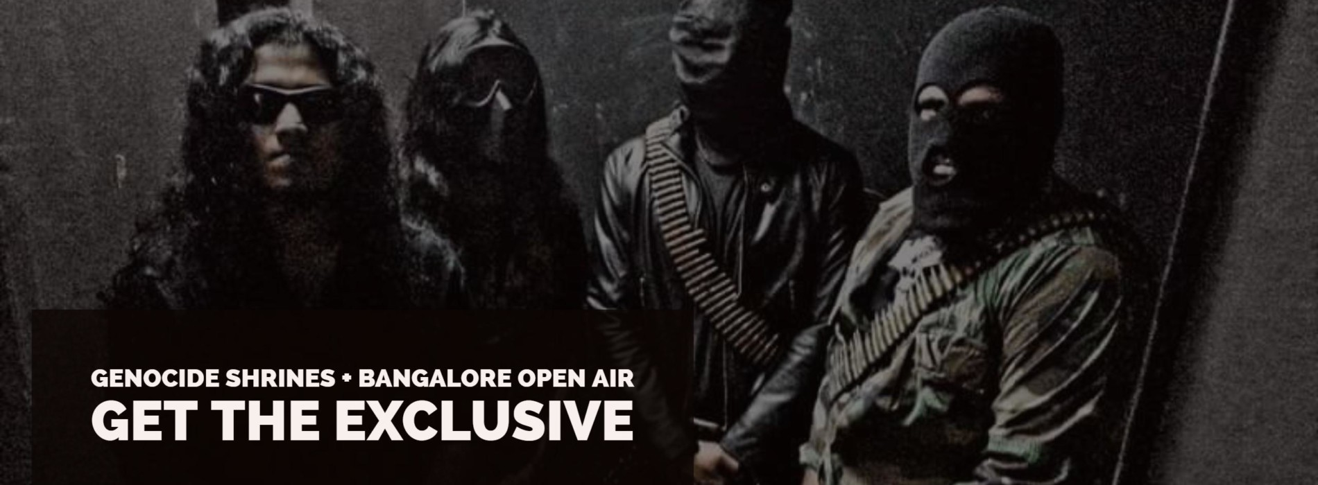 Decibel Exclusive : Genocide Shrines To Play @ The Bangalore Open Air