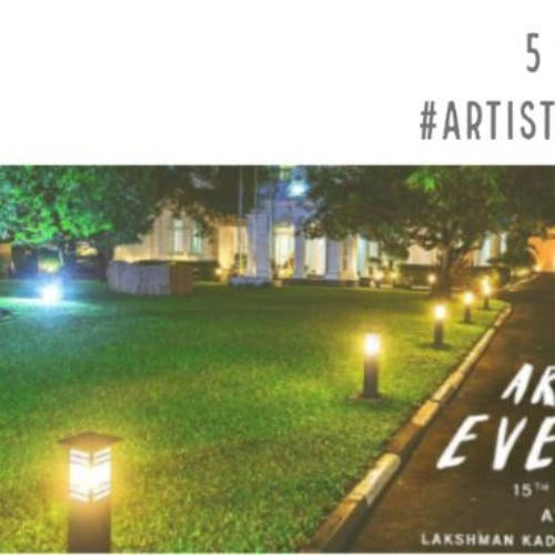 5 Days Till Artist Evening