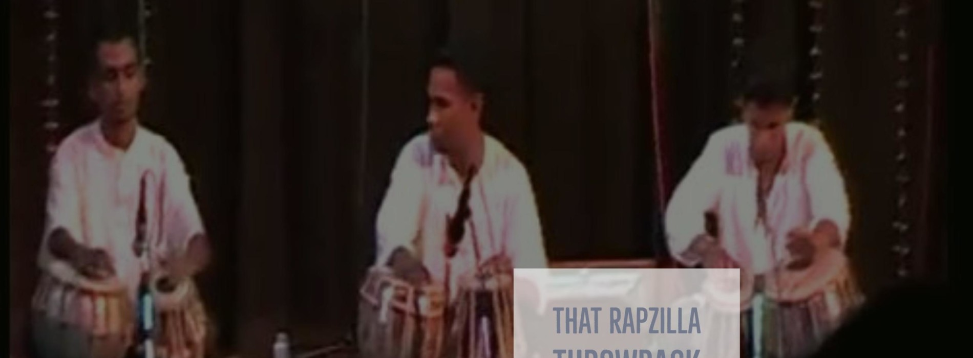 #Throwback : Rapzilla & His Tabla