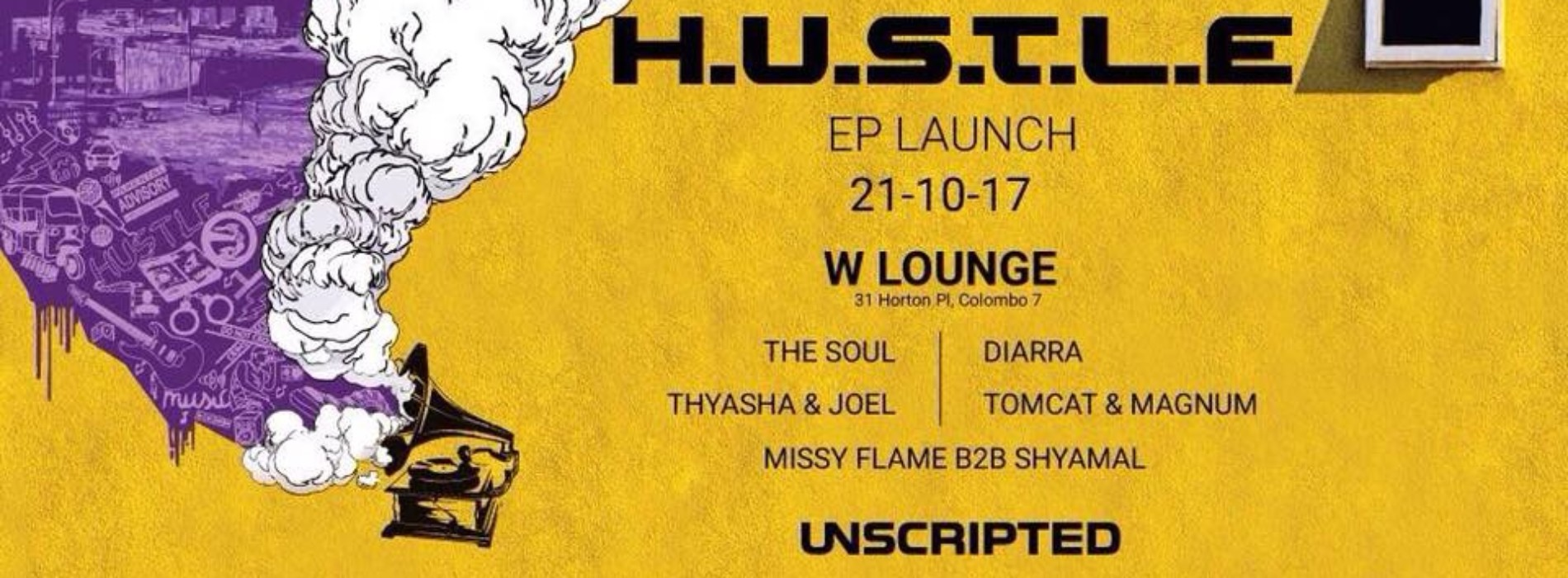 Unscripted Presents – Hustle EP Launch