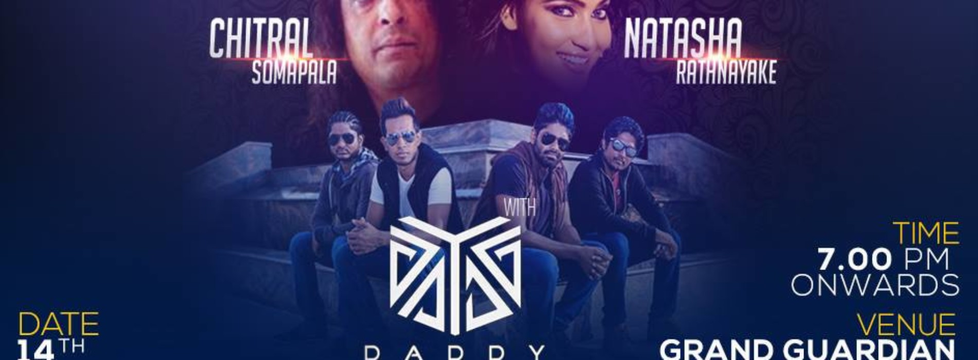 DADDY Live in Concert ft. Chitral & Natasha
