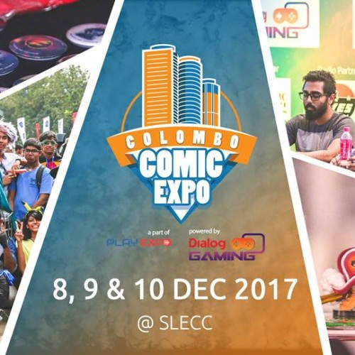 Decibel Exclusive : Colombo Comic Expo