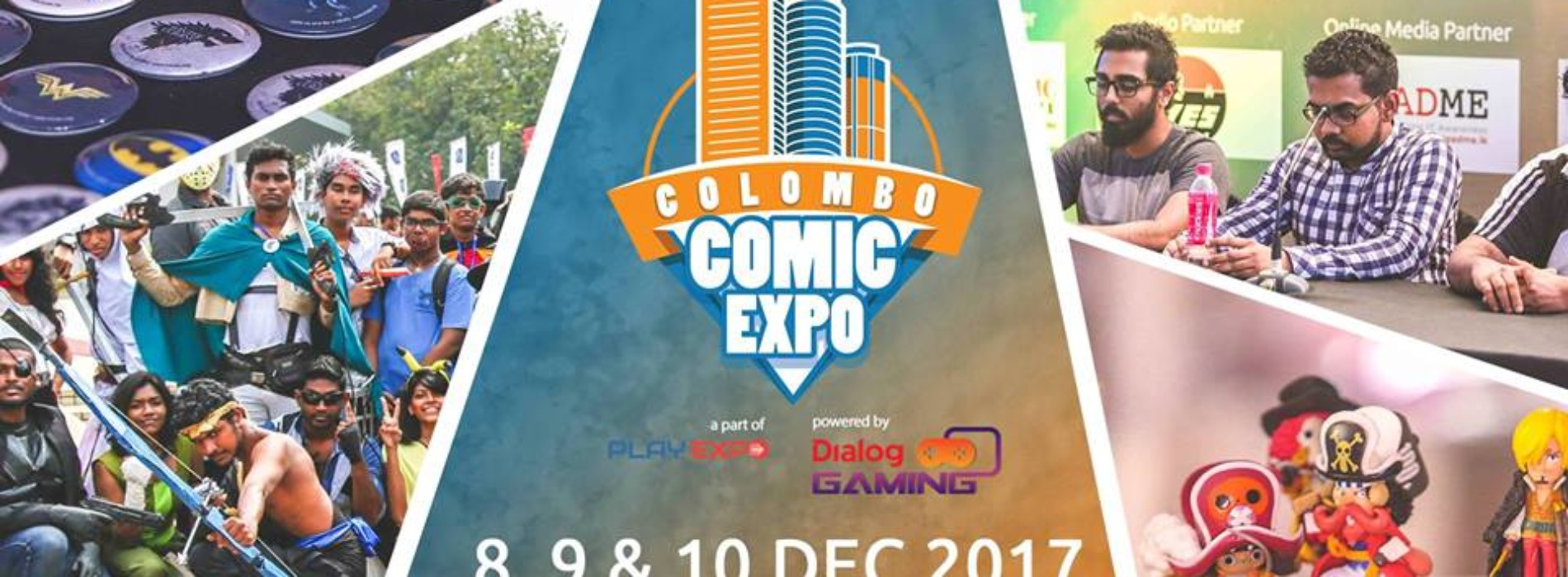 Colombo Comic Expo '17
