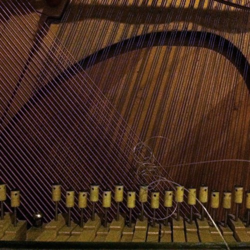 Bowed Piano Drone Performance By Rohit Gupta And Isuru Kumarasinghe