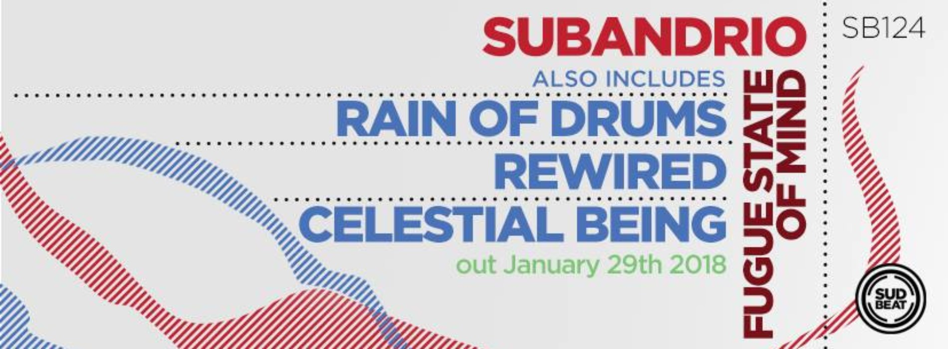 Subandrio Has A Release On Sudbeat